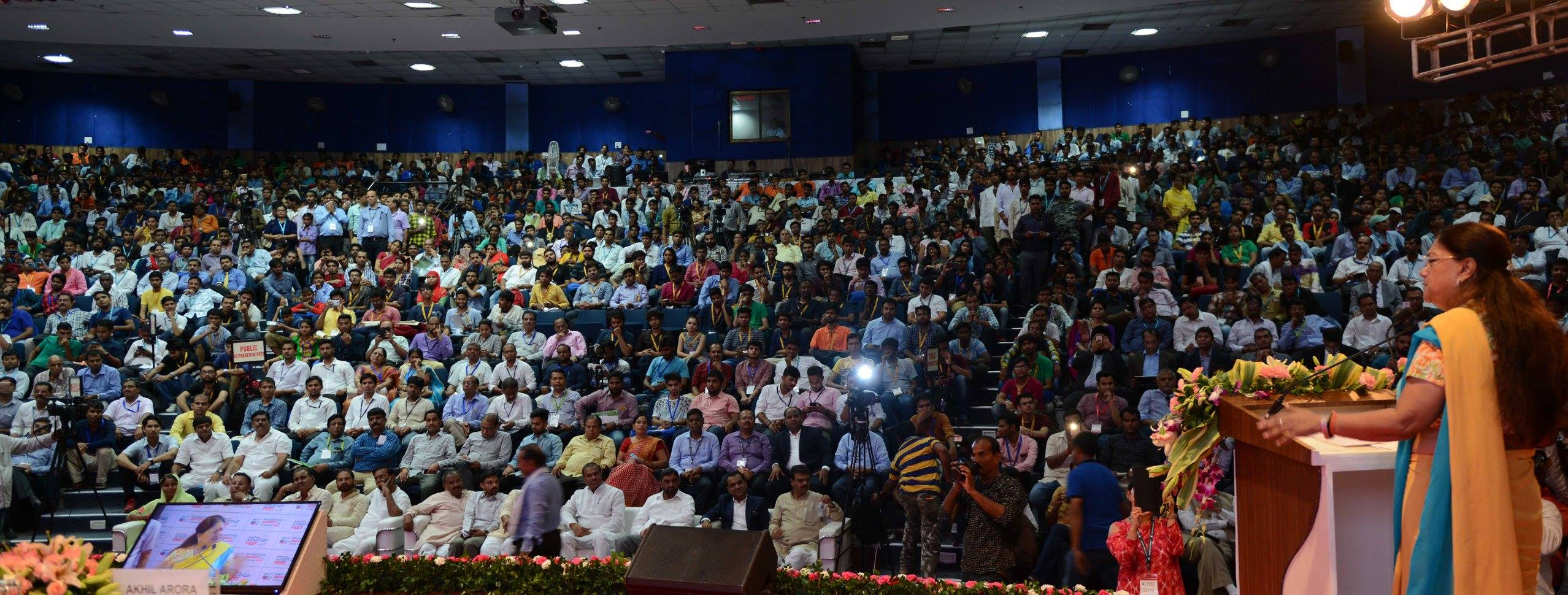 Vasundhara Raje launches several new initiatives for startups of Rajasthan in Digifest 2017